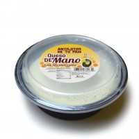 Queso de Mano, three layer container